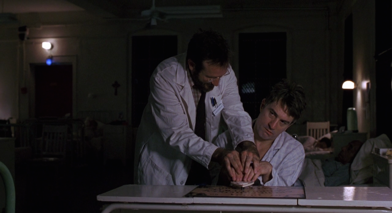Awakenings Robin Williams and Robert De Niro Ouija board