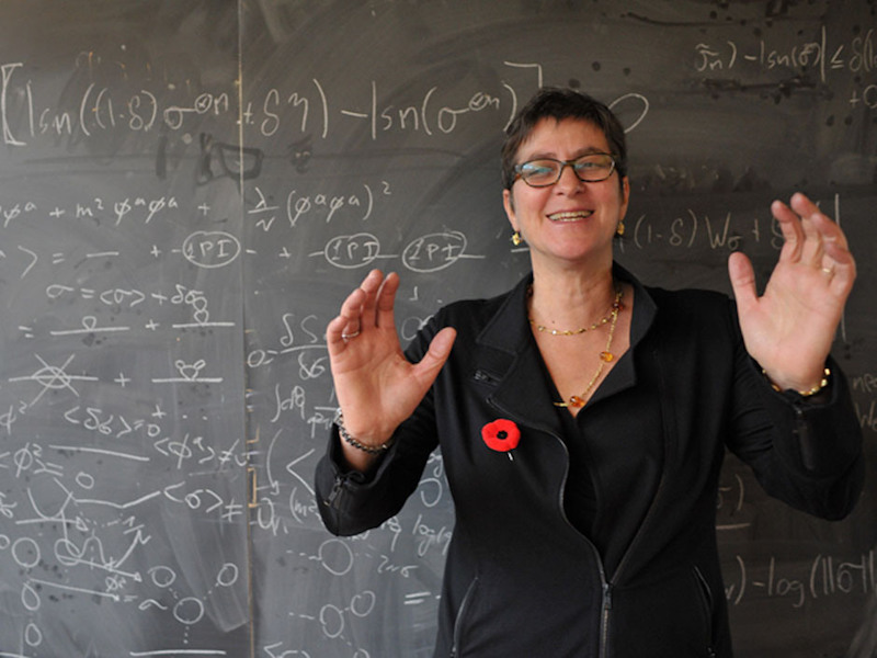 Melissa Franklin, chair of physics at Harvard